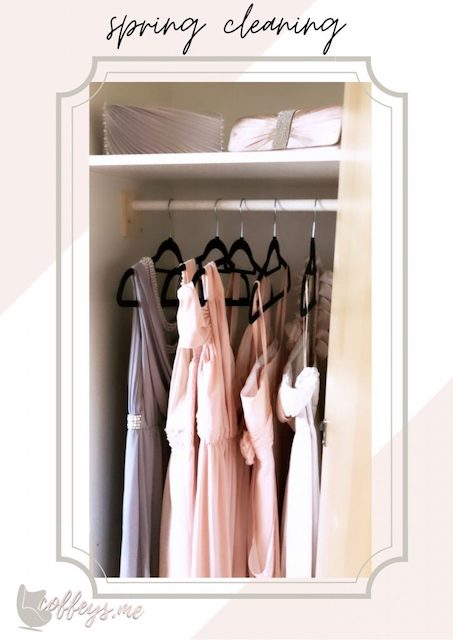 how to organize your closet like a store