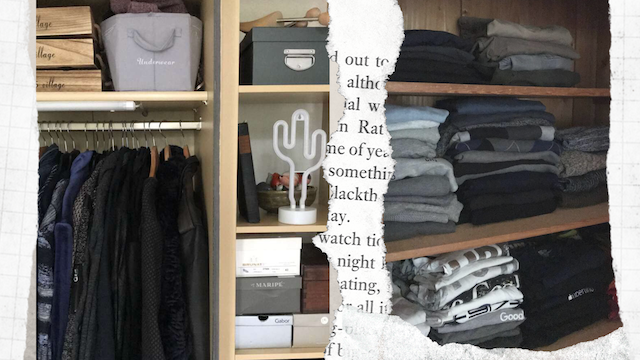 8 steps to organize your closet like a store