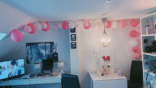 how to make a beautiful balloon garland by yourself