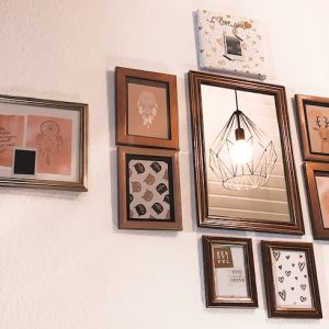6 incredible thrifted items you can DIY with spray paint to create an art gallery wall
