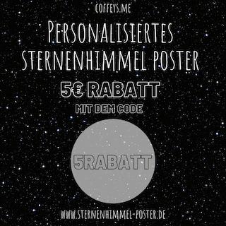 Die schönsten personalisierten Sternenhimmel Poster für dein Zuhause