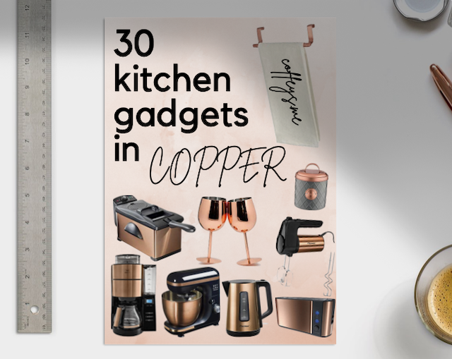 30 copper kitchen gadgets you need from amazon